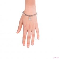 Bracciale Argento Bambina con sfere da 6 mm