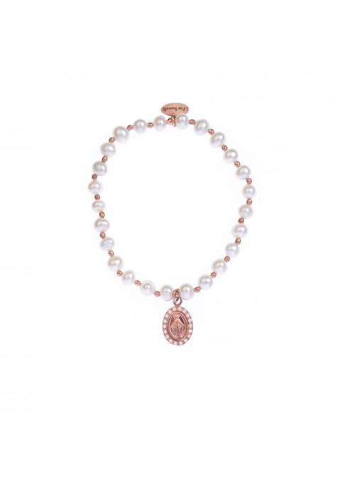 Bracciale Perle Madonna