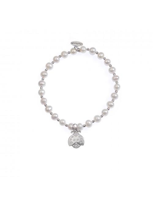 Bracciale Perle Coccinella
