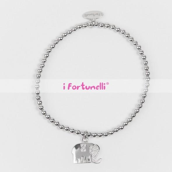 Bracciale Argento Elefante