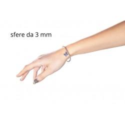 Bracciale Argento Coccinella