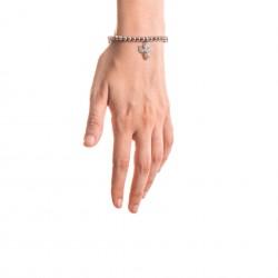 Bracciale Argento Angelo con sfere da 5 mm